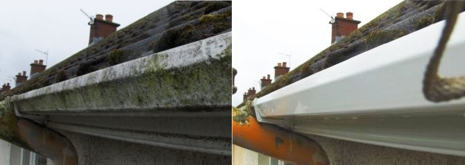 Pvc Cleaning Just Gutters Cleaning Belfast Northern Ireland